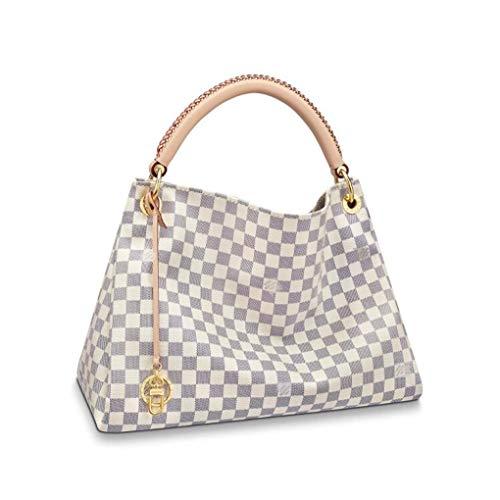 HPASS Artsy Style Designer-Handtasche für Damen, Monogramm, Schultertasche -