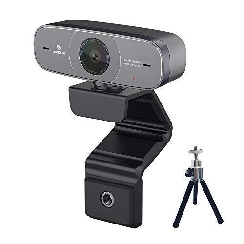Logitubo Pro Webcam 1080P Full HD PC Kamera für Videoanrufe/Streaming DHR/Autofokus USB WebCam mit 2 Mikrofonen kompatibel mit Windows 10 Mac Laptop Xbox One und OBS