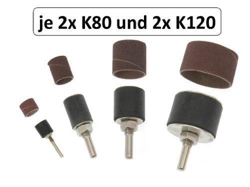 # 40er Schleifhülse /& Schleifwalze für Bohrmaschine Schleifpapier Schleifrolle