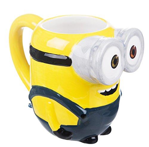41frXjHTWuL Minions Bob 3D Tasse mit Duftanhänger - Minions Tassen 3D - Produkttipp