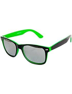 Nuevas Gafas de sol Wayfarer para mujer hombre clásico y espejo Vintage Retro