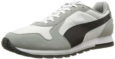 Puma ST-Runner 356224 Unisex-Erwachsene Sneaker, Grau (limestone gray-black 04), EU 42 (UK 8) (US 9)