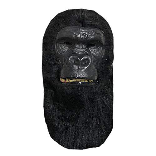 JFSKD Halloween Maske Gorilla Latex Maske Cos Requisiten Maskerade Party Dress Up