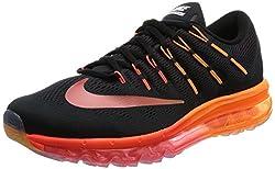 Nike Herren air max 2016 Laufschuhe, Black (Black (schwarz/Multi-Color-Noble-Netzwerk), 44.5 EU