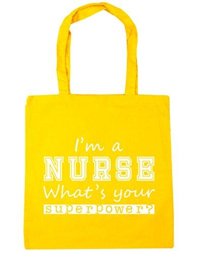 HippoWarehouse ,  Damen Strandtasche, gelb, Einheitsgröße (Work Uniform Shorts)