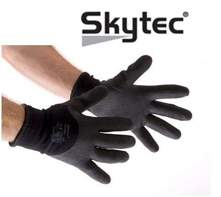 negro Pack de 2 tama/ño: M Skytec guantes sky05-m Ohio guante