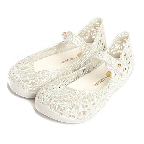 Melissa Shoes Mini Campana Zig Zag 17 19/20 Frost Glitter (Melissa Shoes Jelly)