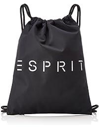 Esprit 028ea2o023, Mochilas Hombre, Negro (Black), 1x46x36 cm (B x H T)