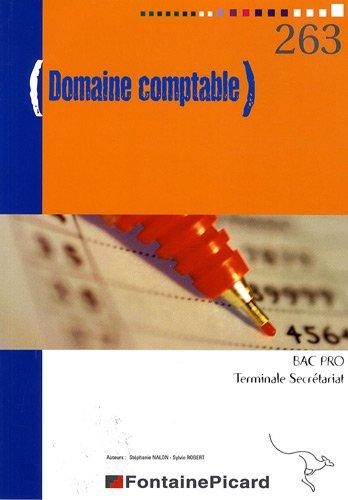 Domaine comptable Tle Bac pro secrétariat