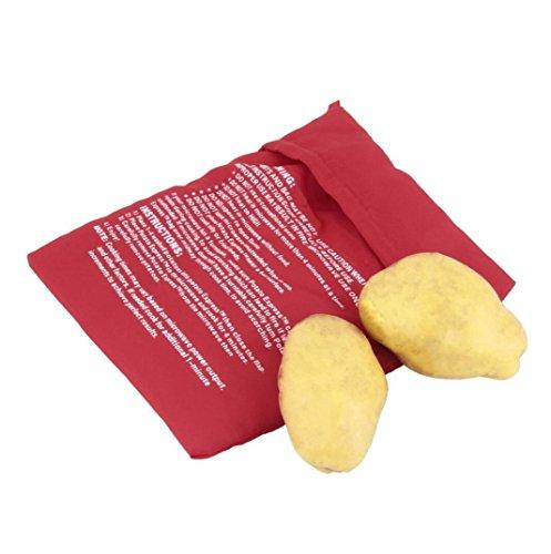 haoyis Hang Forno a microonde 4minuti Giacca patata pentola veloce lavabile riutilizzabile piano