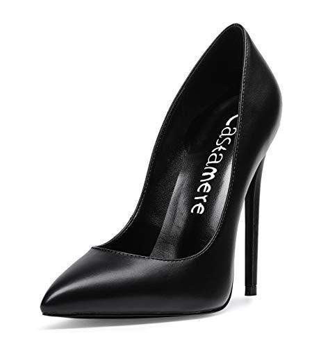 CASTAMERE Scarpe col Tacco da Donna Stiletto Tacco Alto High Heels Sexy Eleganti Scarpe 12CM Tacco...