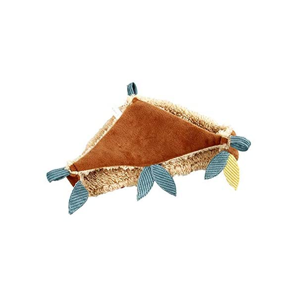 HUVE Flying Squirrel Warm Hammock - Cotton Hanging Bed Nest For Hamster Golden Hamster For Small Pet Chinchilla Rabbit Guinea Pig Playing Sleeping HUVE ▶Made of high quality materials, it is durable and practical. ▶Made of super soft velvet, it is comfortable and comfortable and warm. ▶Small pet hammock warm bed double layer squirrel mat for hamster squirrel guinea pig. 1