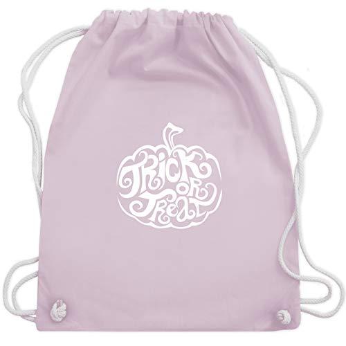 Halloween - Trick or treat - Unisize - Pastell Rosa - WM110 - Turnbeutel & Gym Bag