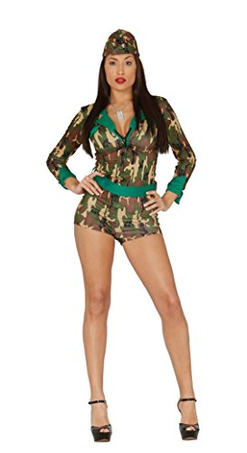 Fiestas Guirca Kostüm Sexy Military - Spanische Soldat Kostüm