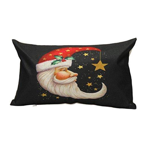 Ninasill Weihnachten Kissen, x10e6X 10E6; Exklusives Kissen Sofa Taille Überwurf Kissenbezug Home Decor, a, 45cm *45cm