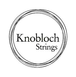 Cordes KNOBLOCH 600KAS JEU CLASSIQUE ARGENT/CARBONE TENSION FORTE Cordes guitares classiques
