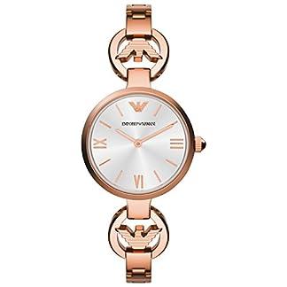 Emporio Armani AR1773 – Reloj de Cuarzo para Mujer, Correa de Acero Inoxidable Color Dorado