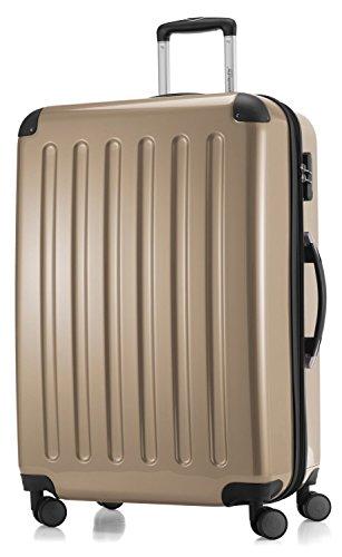 Hauptstadtkoffer - Hartschale Koffer Trolley Serie Alex 119 l champagner hochglanz + 20,- Reisegutschein