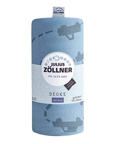 Julius Zöllner Couverture en jersey doublée Motif pique-up 120 x 120 cm