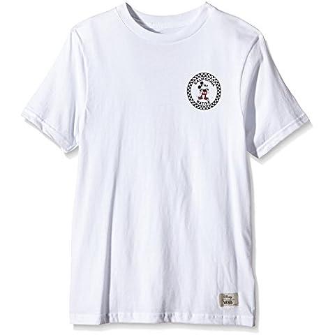 Vans Disney Ninos Blanco Mickey Mouse camiseta-X-Large