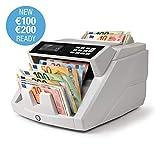Safescan 2465-S - Contadora totalizadora de billetes. Cuenta billetes de euro mezclados . Detección...