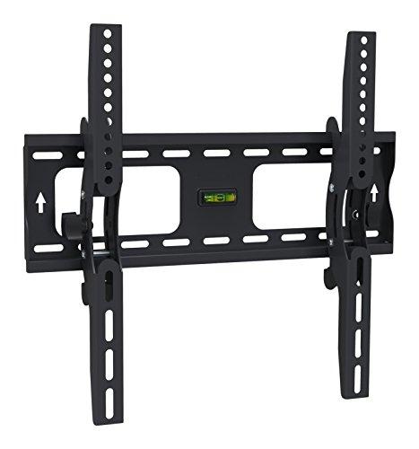 Archimède dwd1023t Porte TV 23 – 55 pouces, métal, noir, 47 x 7 x 42 cm
