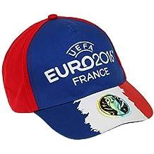 Offizielles UEFA Euro 2016Hat Baseball Cap für Kinder Jungen 3und 12Jahren | England Wales Nordirland