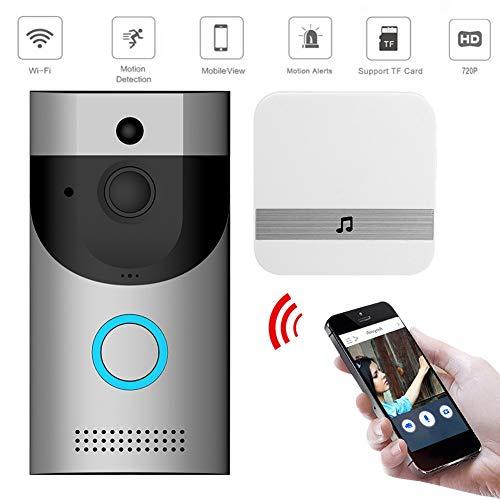 TONGTONG Wireless WiFi Intercom Video Doorbell Doorbell Receiver Set Door Bell Camera WiFi Video Night Vision Dropshipping (Intercom-wifi)
