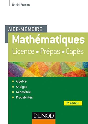 Aide-Mémoire - Mathématiques - 2e éd.