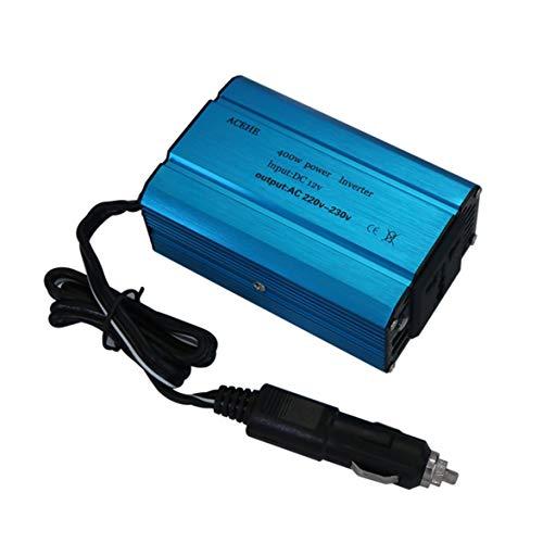 400w Auto Power Inverter (Kongqiabona ACEHE 400 Watt Auto Power Inverter DC 12 V zu 110-220 V AC Dual USB Lade Ports Mit Auto Ladegerät Portable Converter)