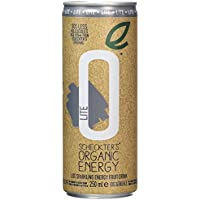 Scheckter's Organic Energy Lite Drink 250 ml (Pack of 4)