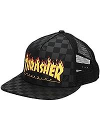 Vans Gorra X Thrasher Trucker Negro/carbón/Amarillo