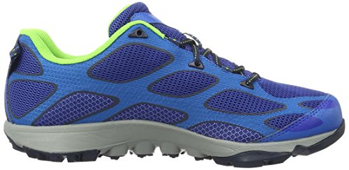 Columbia Conspiracy Iv Outdry Herren Outdoor Fitnessschuhe, BM6004 Blau (Azul/poppy Red 437)