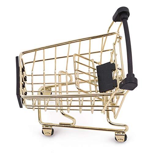 NYAOLE - Carrito compra pequeño ruedas simulación