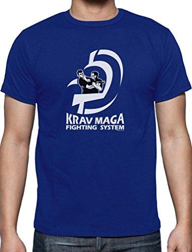 Präsent für Krav Maga Movement Fans T-Shirt Blau