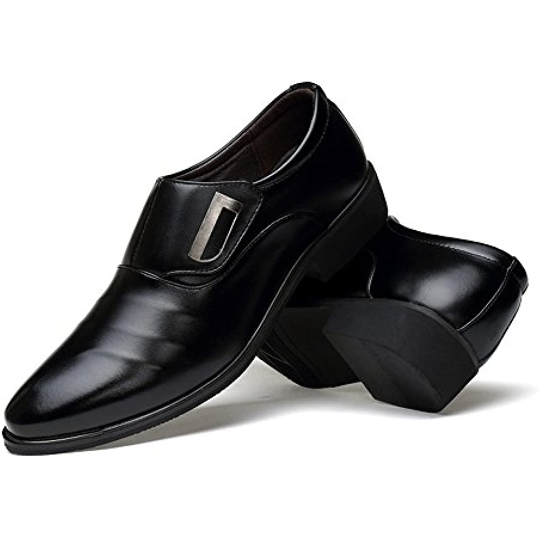 XHD-Chaussures Chaussures de Ville pour Hommes PU Simples, Cuir PU Hommes Mat, empi egrave;ceHommests matelass eacute;s agrave; Tige sup eacute; - B07JWB1RN4 - 3f104f