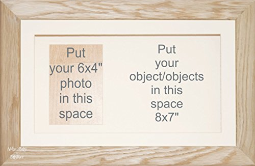 BabyRice groß Eiche massiv Holz Display Karton Rahmen für Objekt Andenken Wirft Einrahmung Eiche Display-box