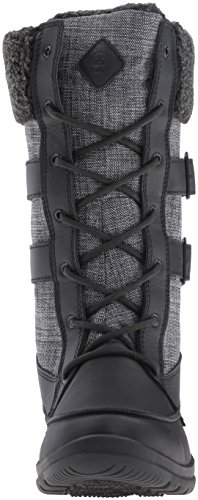 Kamik - Addams, Stivali a metà gamba con imbottitura pesante Donna Nero (Schwarz (BLK-BLACK))