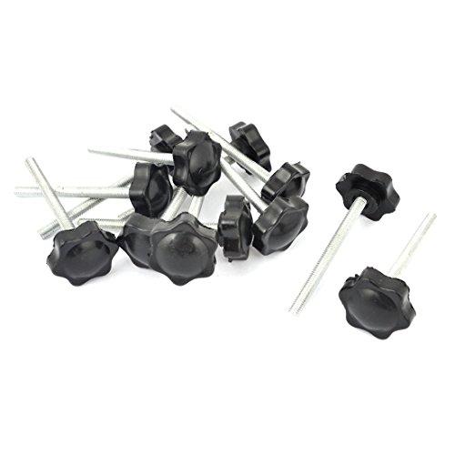 sourcingmapr-m6-x-70mm-maschio-filo-32mm-stella-testa-dia-vite-on-tipo-serrante-pomello-12pz