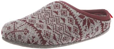 Camper Women's Wabi Tweed Gris Flock Moccasin 20889-023 3 UK