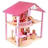 Unbekannt Spielhäuser Kinderspielzeug Prinzessin Zimmer Simulation Kinder 2. Etage Villa Kinder Puzzle Bausteine   Boy und Girl Entertainment Spielzeug Geben Sie Ihrem Kind Weihnach