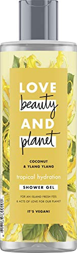 Love, Beauty + Planet Tropical Hydration Duschgel Coconut Oil & Ylang Ylang Flower, 400 ml -