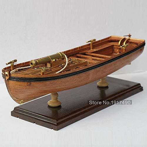 POTOLL Modellbausatz Schiff Wasserfahrzeug-Modellbausätze Model Schiff Hölzerne Schiffsmodelle Kits Maßstab 1/36 Zug Hobby Modell-Holz-Boote 3D Laser Geschnittene Modell-Schiff-Montage (Hölzerne Schiffe-kits)