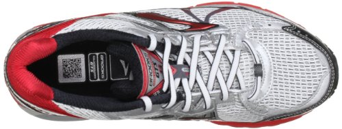 Brooks Adrenaline Gts 13 M, Herren Sneaker Weiß (White/Silver/Black/Red)