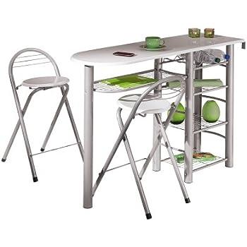 Links 50901190 Küchenbar Weiß Küchentisch Küchentresen Tresen