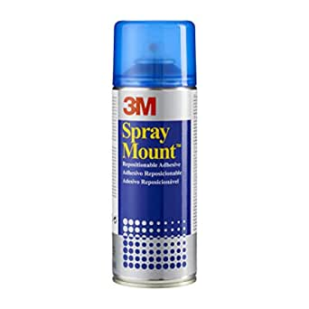 Spraymount Spray Adhesive Repositionable When Wet 400 Ml 400 Ml Business Industry Science