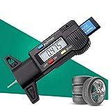 profondità battistrada Digitale indicatore misuratore Tester del Pneumatico ispezione battistrada Schermo LCD Strumento di Misura per la Gamma di carrelli Auto 0-25mm