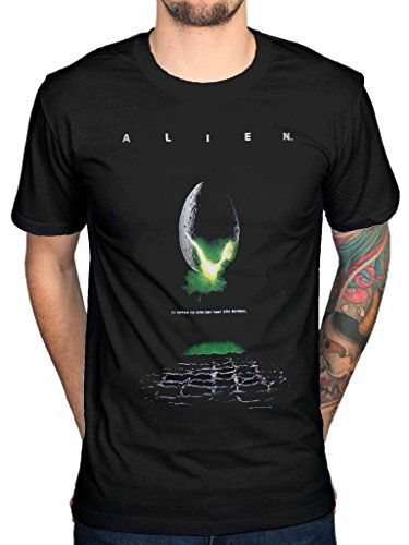 AWDIP Officiel Alien Poster T-Shirt Ripley Ridley Scott Film D'Horreur Film