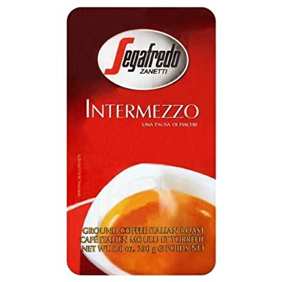1x Segafredo Intermezzo Ground Coffee (1x250g) by Segafredo Zanetti