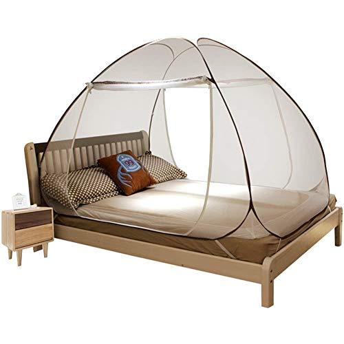 Sunny Übergroße Tragbare Moskitonetz - Home Schlafzimmer Outdoor Camping Moskito - Pflegeleicht Maschinenwäsche Und Reißen Viele Größen (größe : 1.35m (4.5 feet) Bed)